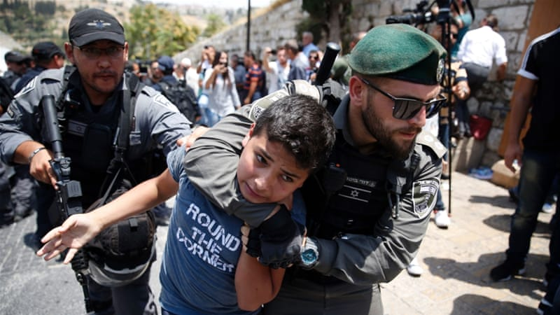 Israel cop beat Palestinian minor to force confession