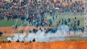 Video shows Israeli sniper shooting Palestinian as soldiers celebrateJerusalem
